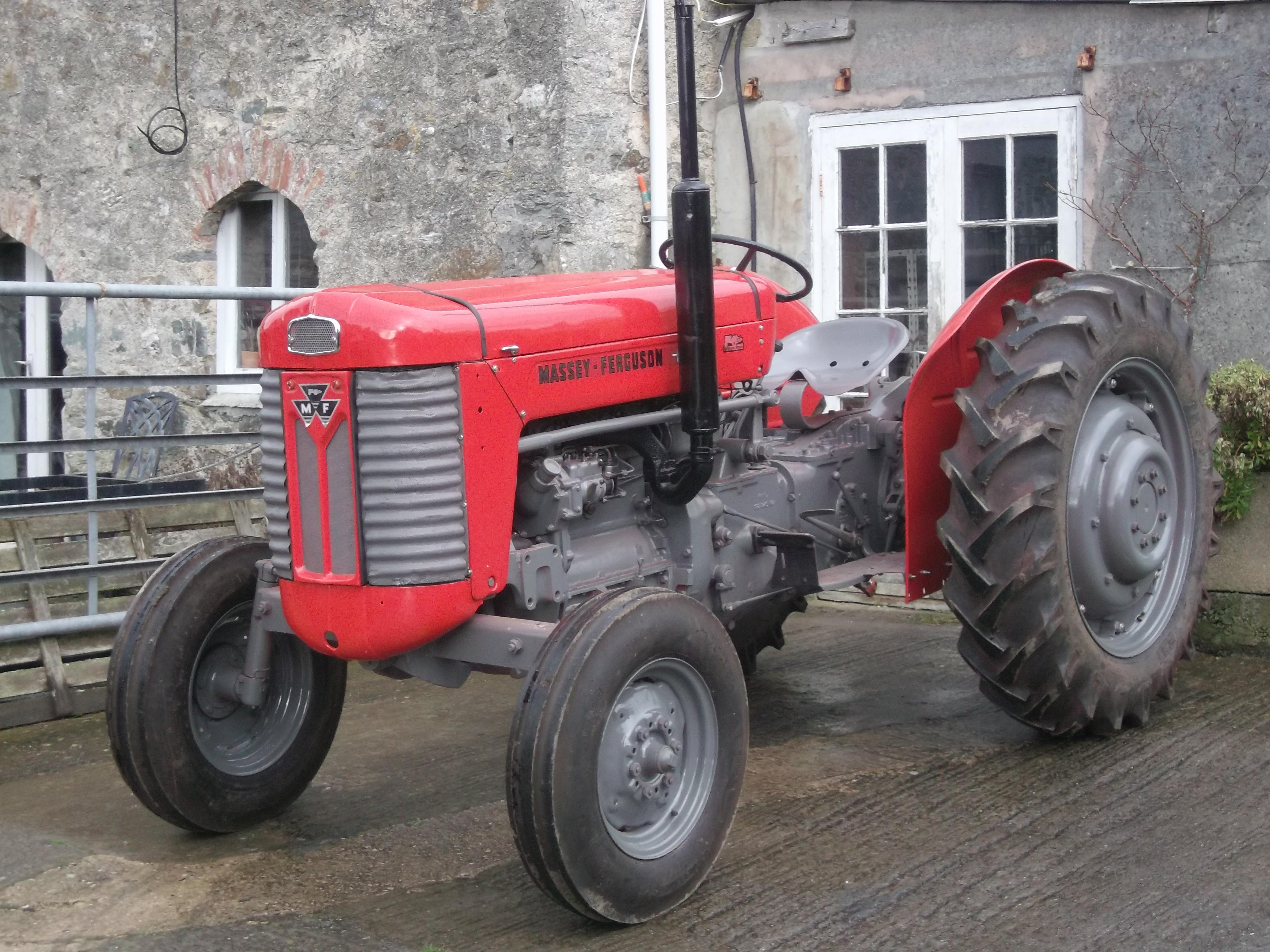 Massey Ferguson 65 Injection Pump : Massey ferguson mk i foale vintage tractors